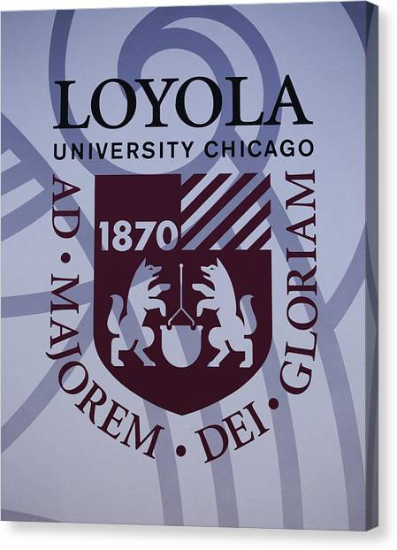 Loyola University Chicago Canvas Print - Loyola University Chicago by Greg Thiemeyer