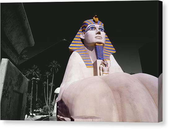 Luxor Sphynx Canvas Print by Tom Fant