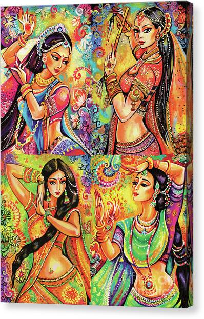 Magic Of Dance Canvas Print
