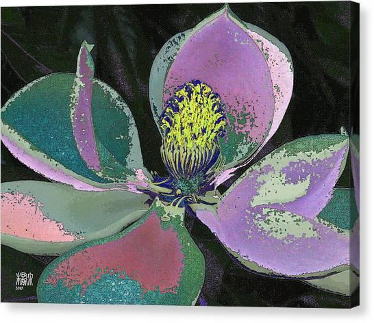 Magnolia Canvas Print by Michele Caporaso