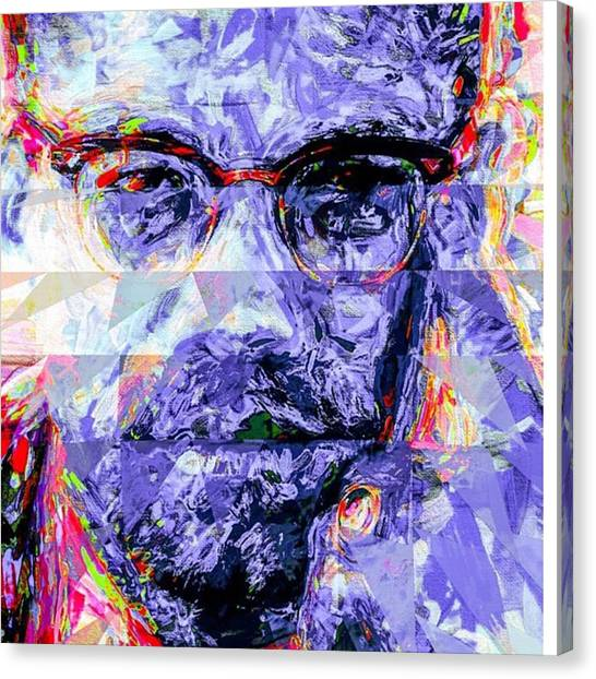Racism Canvas Print - Malcolm X Was Told He Could Be Nothing by David Haskett II