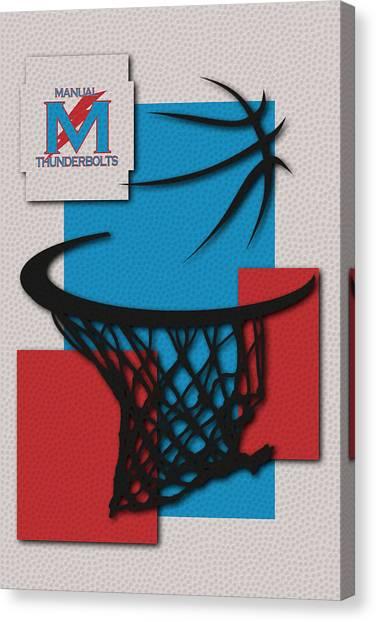 High School Canvas Print - Manual Thunderbolts by Joe Hamilton