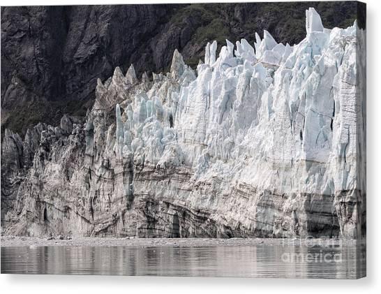 Margerie Glacier Canvas Print - Margerie Glacier by Richard Sandford