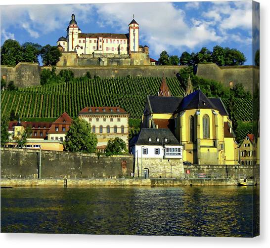 Marienberg Fortress Canvas Print