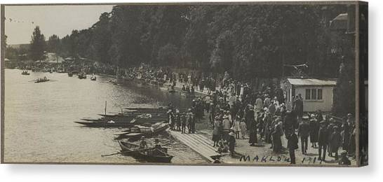 Marlow Canvas Print - Marlow, 1919, By Herbert Green by Celestial Images