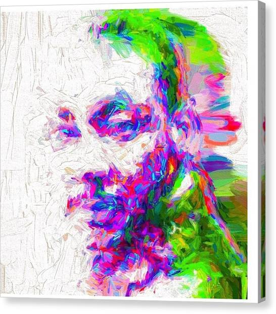Racism Canvas Print - Martin Luther King Jr. He Spoke For by David Haskett II