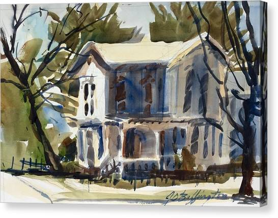 Mary Eck's House  Canvas Print