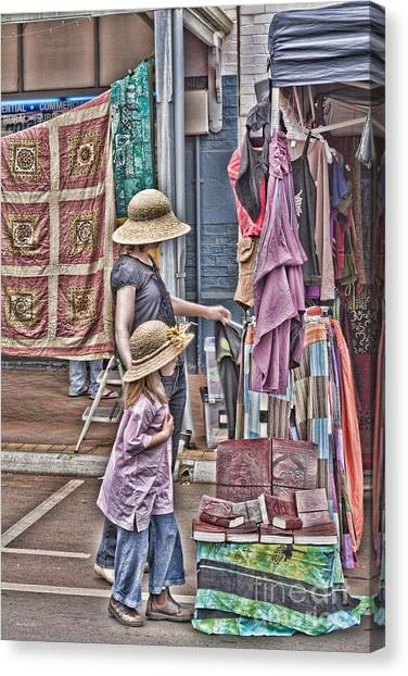 Matching Hats Canvas Print