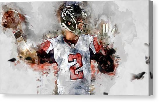 Matt Ryan Canvas Print - Matt Ryan by Marvin Blaine
