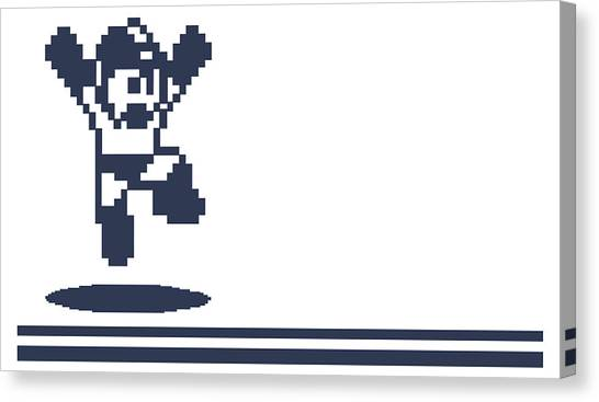 Mega Man Canvas Print - Mega Man by Angie Fraley