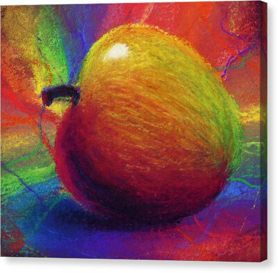 Apples Canvas Print - Metaphysical Apple by Kd Neeley