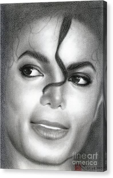 Michael Jackson #eight Canvas Print