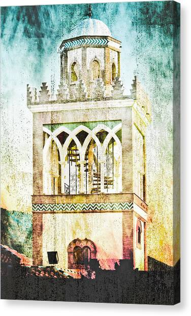 Andalusia Canvas Print - Minaret by Tom Gowanlock