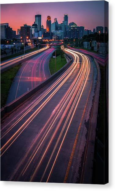 Minneapolis In Motion Canvas Print