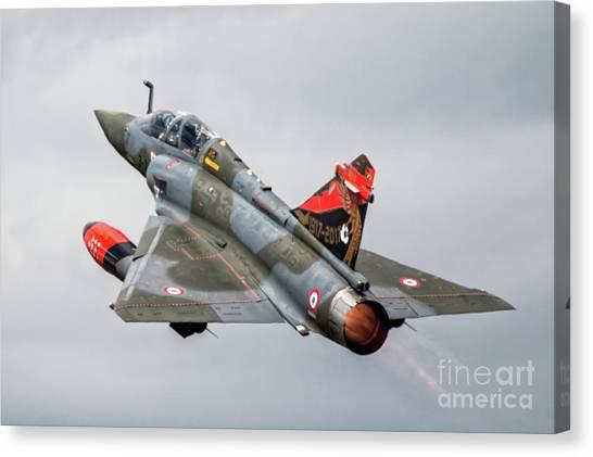 Mirages Canvas Print - Mirage 2000d by J Biggadike