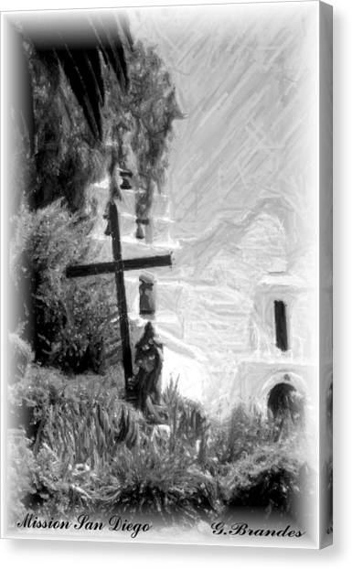 Mission San Diego Canvas Print
