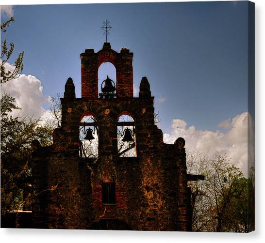 Mission San Francisco De La Espada Canvas Print