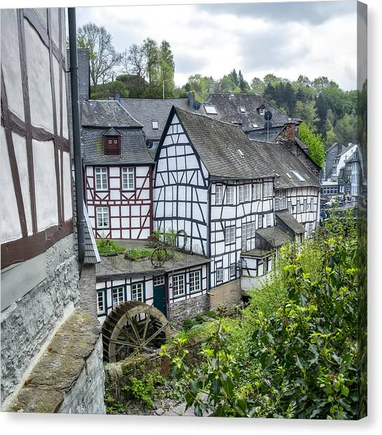 Monschau In Germany Canvas Print