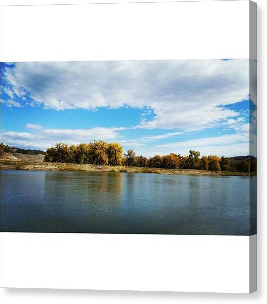 Big Sky Canvas Print - Lewis And Clark by Ashley Loza
