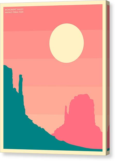 Mountain Sunrises Canvas Print - Monument Valley, Navajo Tribal Park by Jazzberry Blue
