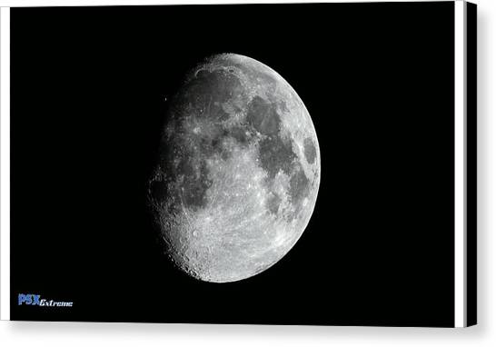 Satellite Canvas Print - Moon by Mariel Mcmeeking