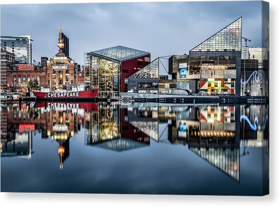 More Baltimore Canvas Print