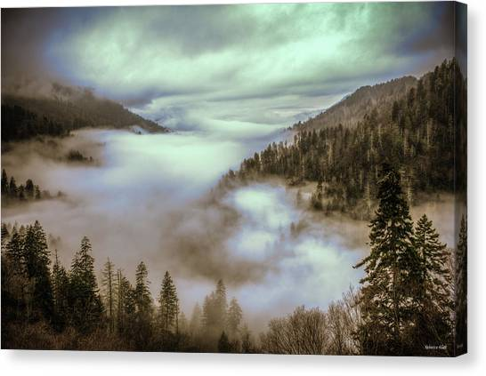 Morning Mountains II Canvas Print