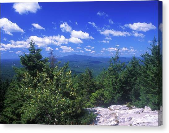 Mount Monadnock From Pack Monadnock Canvas Print
