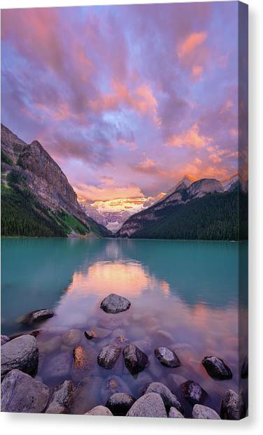 Mountain Rise Canvas Print