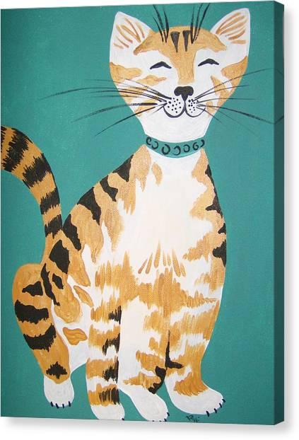 Mr. Tabby Canvas Print