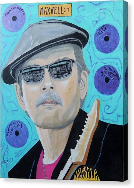 Mr. Triple Threat.studebaker John. Canvas Print