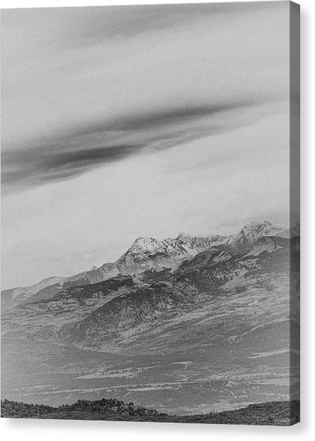 Verde Canvas Print - Mt Hesperus by Joseph Smith