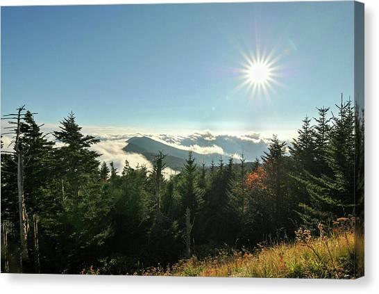 Mt Mitchell Landscape Canvas Print
