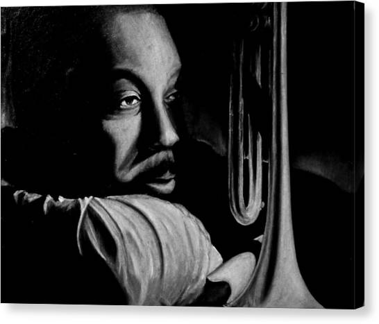 Musical Muse Canvas Print