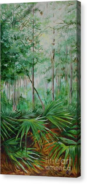 My Backyard Canvas Print by Michele Hollister - for Nancy Asbell