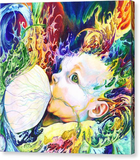 Baby Canvas Print - My Soul by Kd Neeley