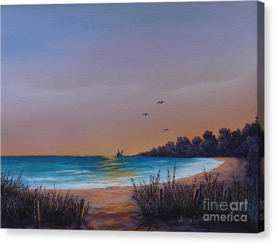 Myrtle Beach Sunset Canvas Print