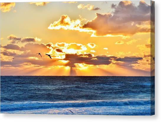 Nags Head Sunrise  Canvas Print