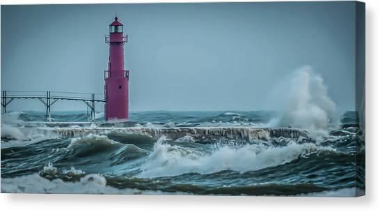 Nautical Turbulence Canvas Print
