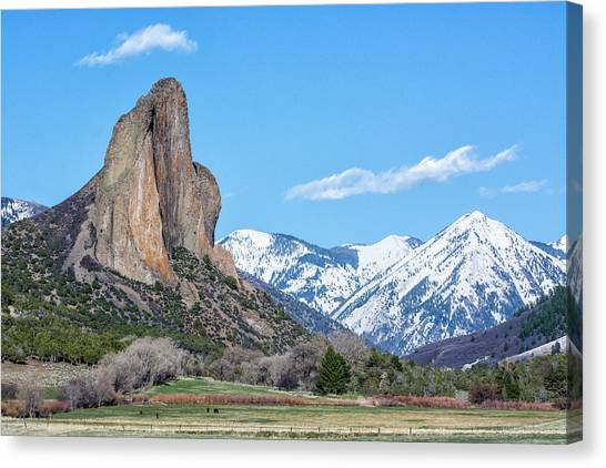 Needle Rock Canvas Print