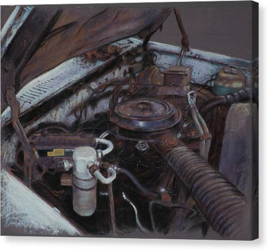 Still Life Canvas Print - Needs A Little Work by Christopher Reid