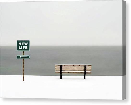 Canvas Print - New Life by Emil Bodourov