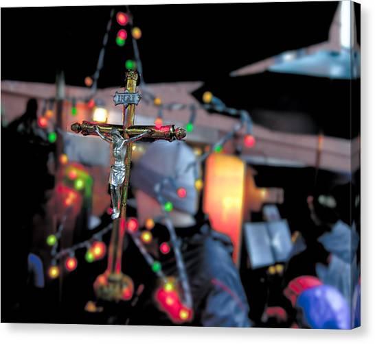 New York Christmas Canvas Print by Patrick  Flynn