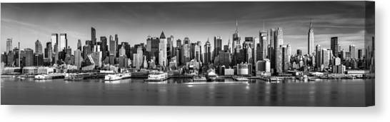 New York City Panorama Canvas Print
