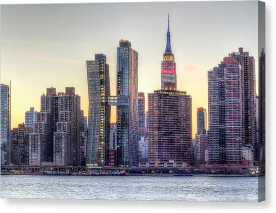 New York Spirit Canvas Print by Zev Steinhardt