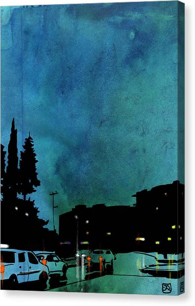 Big Sky Canvas Print - Nightscape 03 by Giuseppe Cristiano