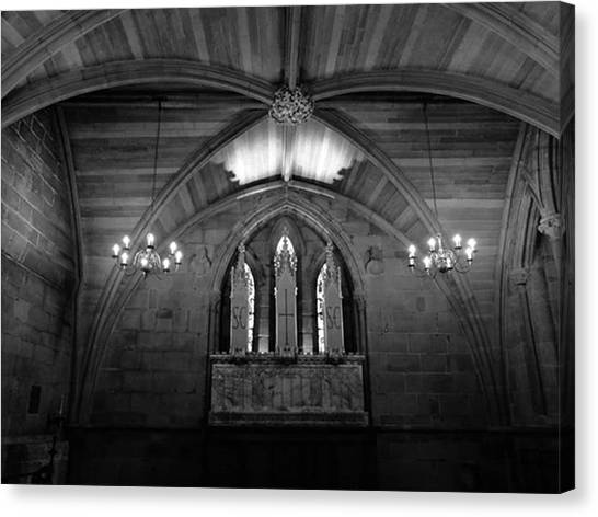 Vault Canvas Print - . . Lichfield Cathedral. Lichfield   by John S