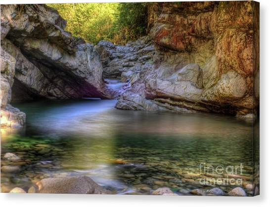 Norrish Pool Canvas Print