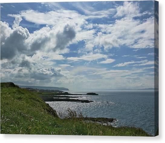 North Coast Cloudscape Canvas Print