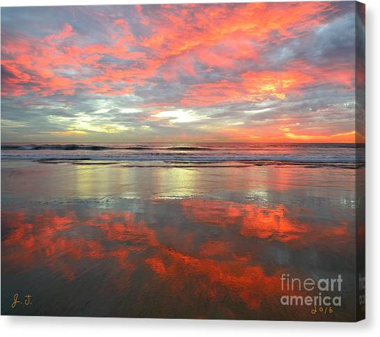 North County Reflections Canvas Print